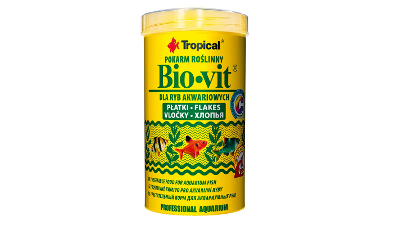 Tropical BIO-VIT  100ml   aquarium fish food - flakes