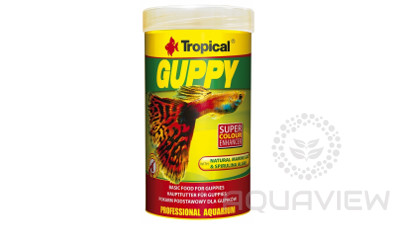 Tropical GUPPY flakes 100ml