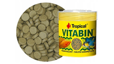 VITABIN VEGETABLE   - fish food - 80 tabletsl