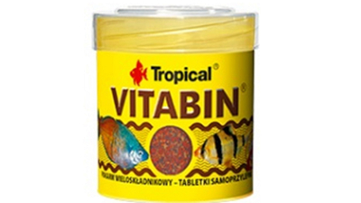 VITABIN MULTI-INGREDIENT  - fish food - 80 tabletsl