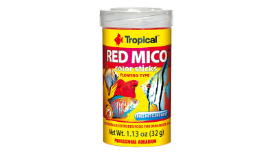 Tropical RED MICO colour stics - fish food - 100ml