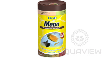 Tetra Menu 100ml 4 types of food