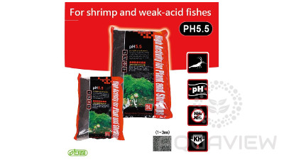 ISTA SHRIMP SOIL pH 5.5  2l - S 1,5-3,5mm
