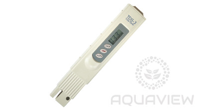 TDS3 meter with thermometer and calibration